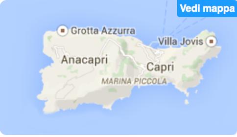 on capri italy map